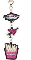 Betsey Johnson Eye Heart Rebus Dangle Keychain
