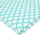 T.L.Care TL Care 100% Cotton Percale Fitted Mini Crib Sheet
