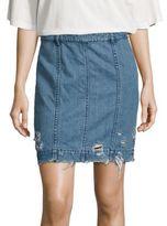 Public School Edgar Denim Skirt