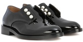 Givenchy Masculine Pearls patent leather derby shoes