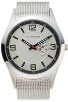 Saks Fifth Avenue Stainless Steel Mesh Bracelet Watch