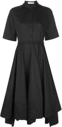 Co short sleeve shirt dress