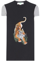 Stella McCartney Embroidered Cotton T-shirt