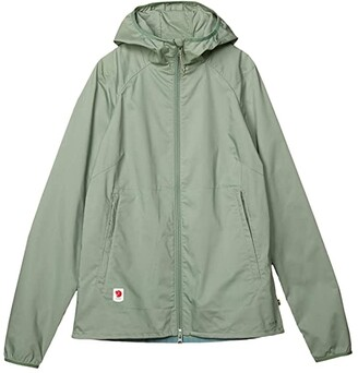 Fjallraven High Coast Shade Jacket (Sage Green) Women's Clothing