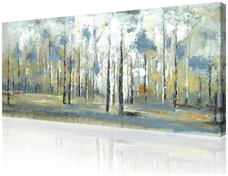 "Artmaison Canada Sky Branches Canvas Wall Art, 30""x60"""