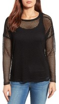 Bobeau Women's Mesh Top