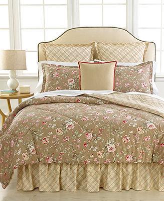 Lauren Ralph Lauren CLOSEOUT! Home Bedding, Margate Mews Twin Comforter Set