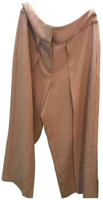 Intermix Pink Trousers for Women