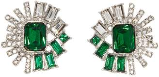 Vince Camuto Large Crystal Stud Earrings