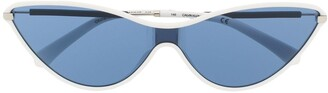 Calvin Klein Jeans Cat-Eye Shaped Sunglasses