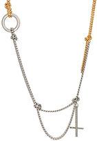 Alexander Wang Women's Cross Charm Necklace