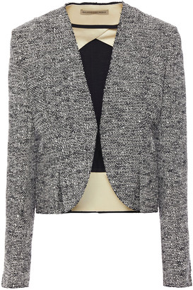 Balenciaga Pleated Boucle-tweed Jacket