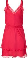 Philosophy di Alberta Ferretti Pink Sleeveless Silk Dress