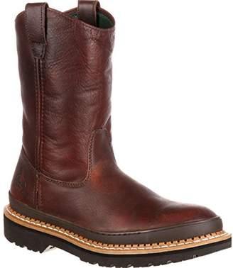 Georgia Boot Men's Giant Steel Toe Pull-On Work Shoe