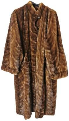 Guy Laroche Brown Mink Coats