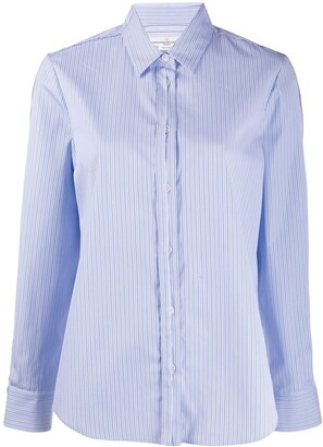 Golden Goose Striped Button-Up Shirt