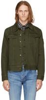 Saint Laurent Khaki Denim Jacket