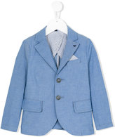 Armani Junior blazer with pocket square