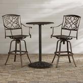 Astoria Grand Wynn 3 Piece Bar Table Set