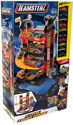 Teamsterz 4 Level Tower Garage with 10 Cars