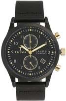 Triwa Midnight Lansen Chronograph Watch Black Classic