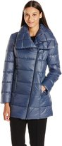 Kenneth Cole Reaction Kenneth Cole Womens Outerwear Lightweight Down Jacket