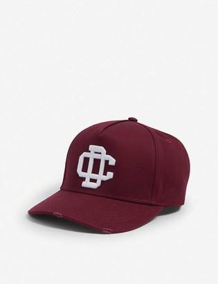 Dsquared2 Acc Logo-embroidered cotton cap