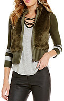 C & V Chelsea & Violet Faux Fur Vest