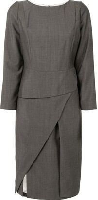 Christian Dior Pre-Owned Front Slit Dress