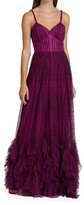 Thumbnail for your product : Marchesa Notte Fit & Flare Ruffle Gown