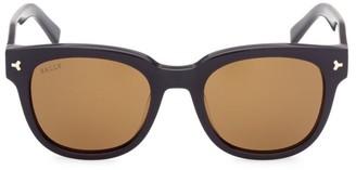 Bally 51MM Plastic Round Sunglasses