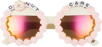 Rad + Refined Donut Care Round Sunglasses