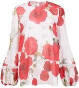 Giambattista Valli floral print blouse - women - Silk - 42