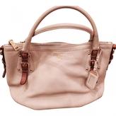 Prada Sacca 2 Manici Beige Bag
