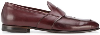 Silvano Sassetti Almond Toe Low Heel Loafers