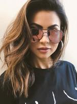 MinkPink Hot Tropic Sunglasses Bronze/Tangerine