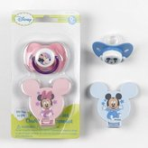 Disney Mickey Mouse Pacifier & Holder color may be vary