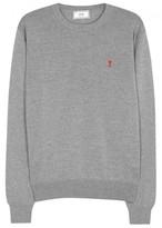 Ami Grey Wool Jumper