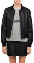 Rag & Bone Cooper Leather Bomber Jacket