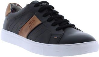 Robert Graham Men's Attwood Two-Tone Leather Sneakers
