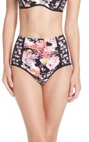 Seafolly Women's Ocean Rose High Waist Bikini Bottoms