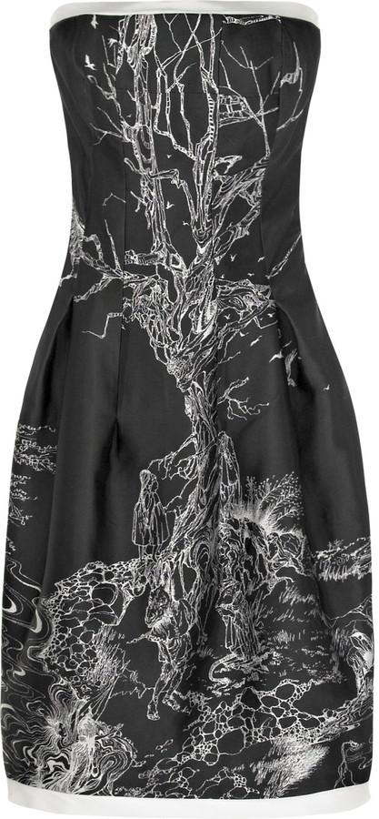 Alexander McQueen Fairy-tale strapless dress