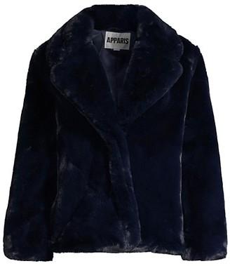 Apparis Manon Oversized Faux-Fur Coat