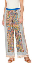 C. Wonder Engineered Paisley Foulard Print Woven Pull-On Pants