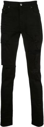 Amiri Distressed Slim Fit Jeans