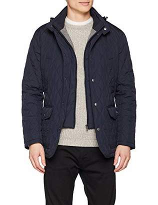 Hackett London Men's Quilted Zip Out JKT Jacket,Small
