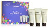 Ahava Happy Minerals Body Three-Piece Set