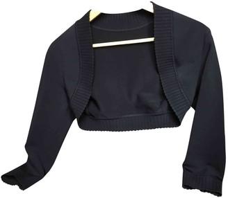 Alaia Black Cotton Knitwear for Women