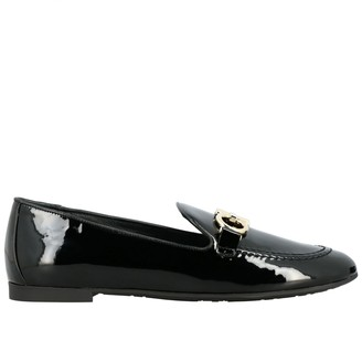 Salvatore Ferragamo Loafers Clover Patent Leather Loafer