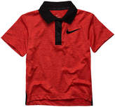 Nike Short Sleeve Solid Jersey Polo Shirt